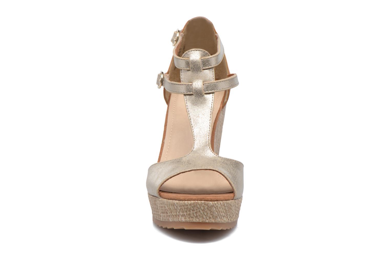 Sandales et nu-pieds S.Oliver Marcusse Or et bronze vue portées chaussures