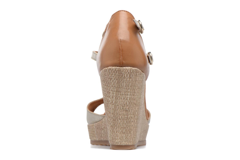 Sandales et nu-pieds S.Oliver Marcusse Or et bronze vue droite
