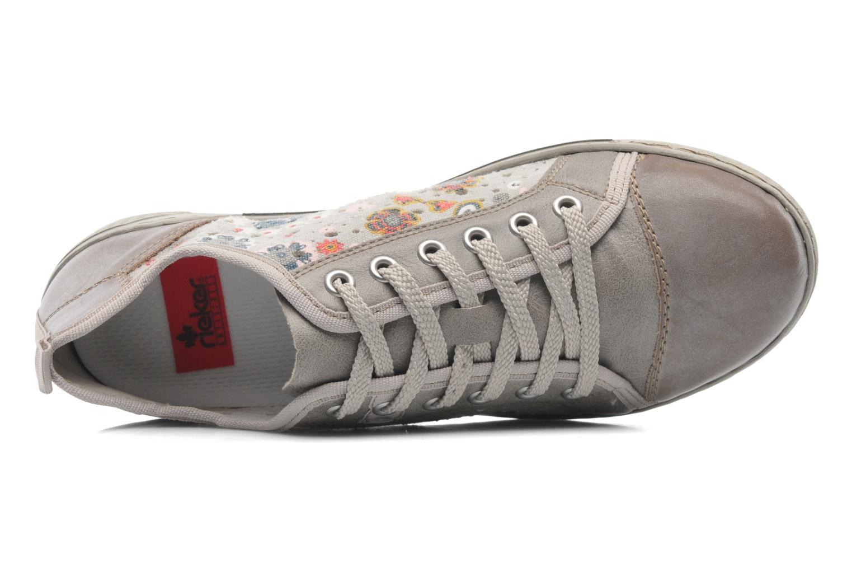Sneaker Rieker Bin 42425 grau ansicht von links