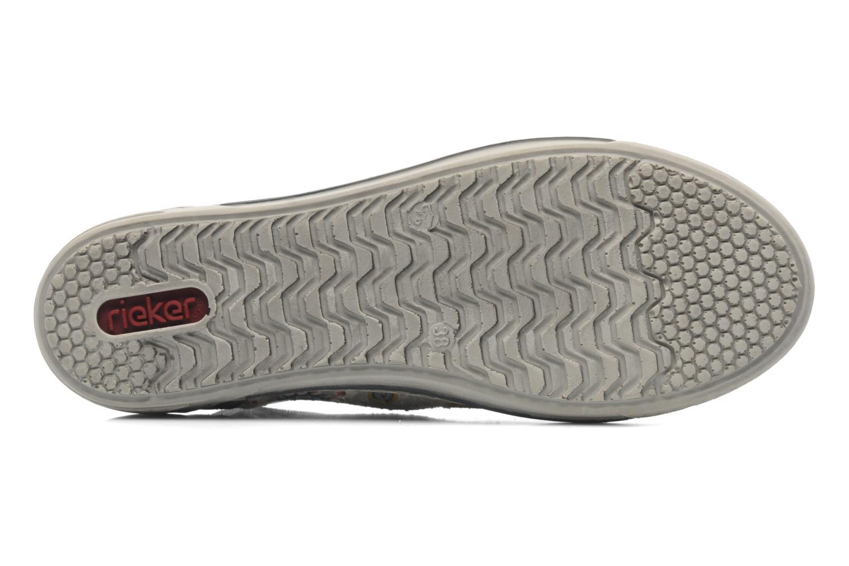 Sneaker Rieker Bin 42425 grau ansicht von oben