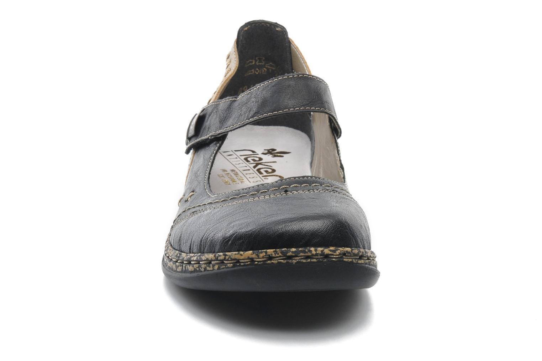 Ballerines Rieker Alia 46378 Noir vue portées chaussures