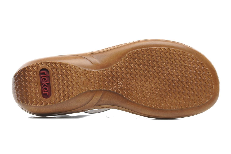 Sandales et nu-pieds Rieker Barock 60841 Marron vue haut