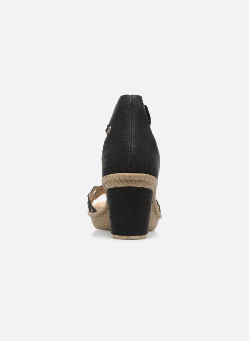 Sandales et nu-pieds Rieker Killa 66555 Noir vue droite