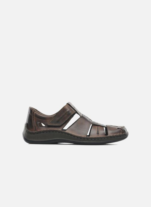 Sandals Rieker Barry 05275 Brown back view