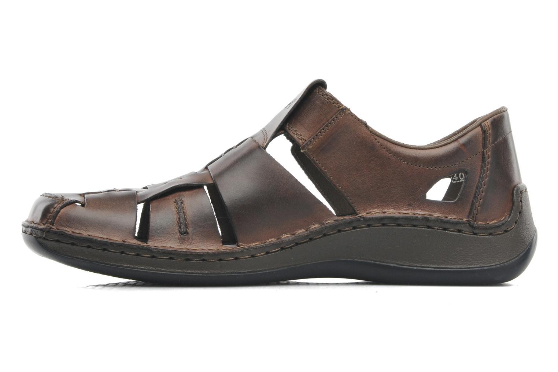 Sandales et nu-pieds Rieker Barry 05275 Marron vue face