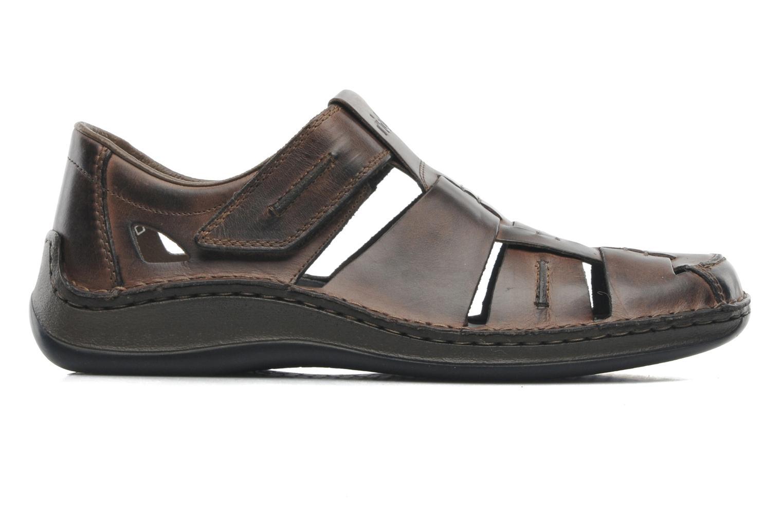 Sandales et nu-pieds Rieker Barry 05275 Marron vue derrière