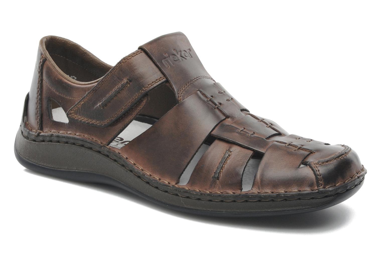 Sandales et nu-pieds Rieker Barry 05275 Marron vue détail/paire