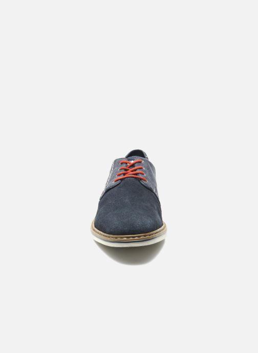 Chaussures à lacets Rieker Venel 1402 Bleu vue portées chaussures