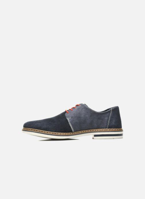Chaussures à lacets Rieker Venel 1402 Bleu vue face