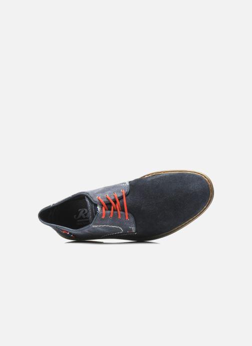 Scarpe con lacci Rieker Venel 1402 Azzurro immagine sinistra
