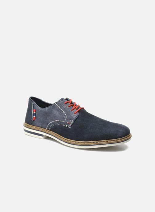 Chaussures à lacets Rieker Venel 1402 Bleu vue détail/paire
