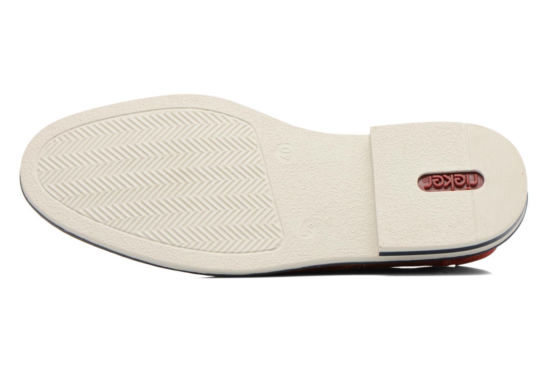 Chaussures à lacets Rieker Venel 1402 Rouge vue haut