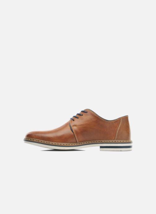 Chaussures à lacets Rieker Brutus 1422 Marron vue face