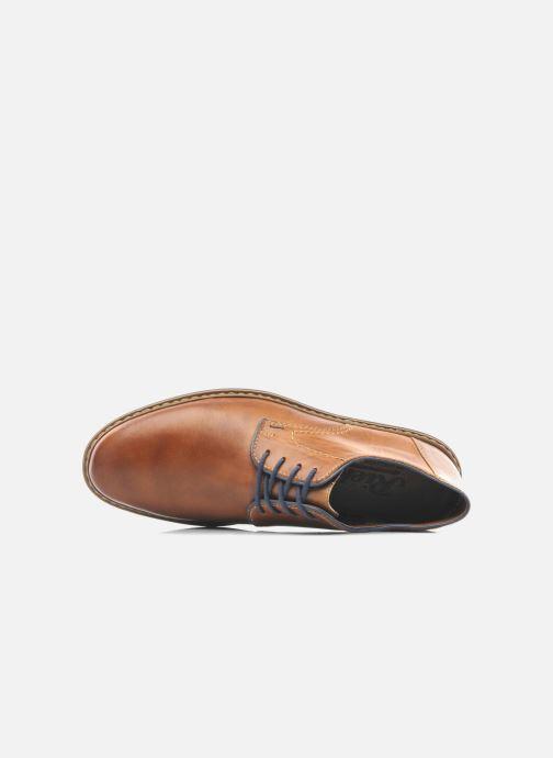 Chaussures à lacets Rieker Brutus Marron vue gauche