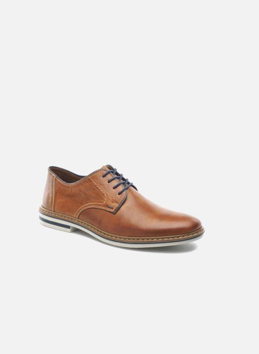 Chaussures à lacets Rieker Brutus Marron vue détail/paire
