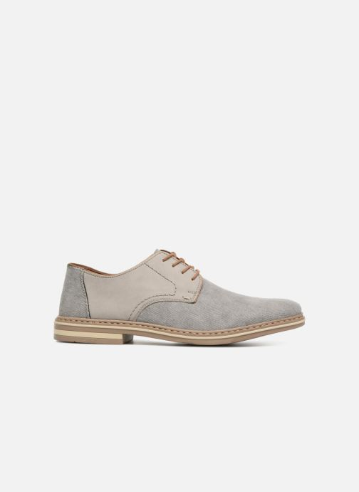 Lace-up shoes Rieker Brutus 1422 Grey back view