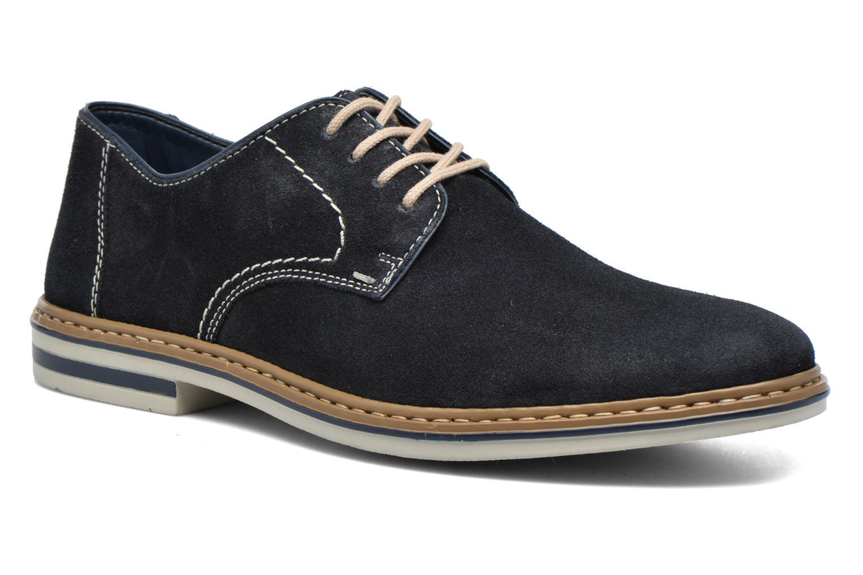Snøresko Rieker Brutus 1422 Blå detaljeret billede af skoene