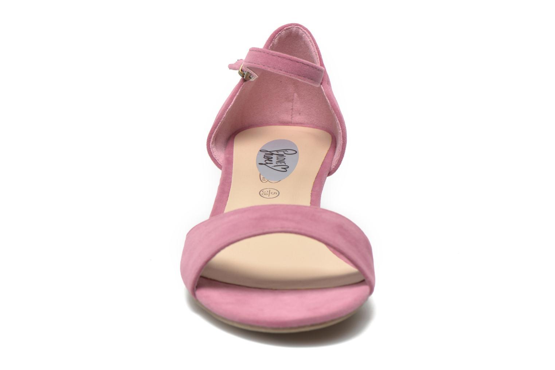 Sandales et nu-pieds I Love Shoes Kivito Rose vue portées chaussures