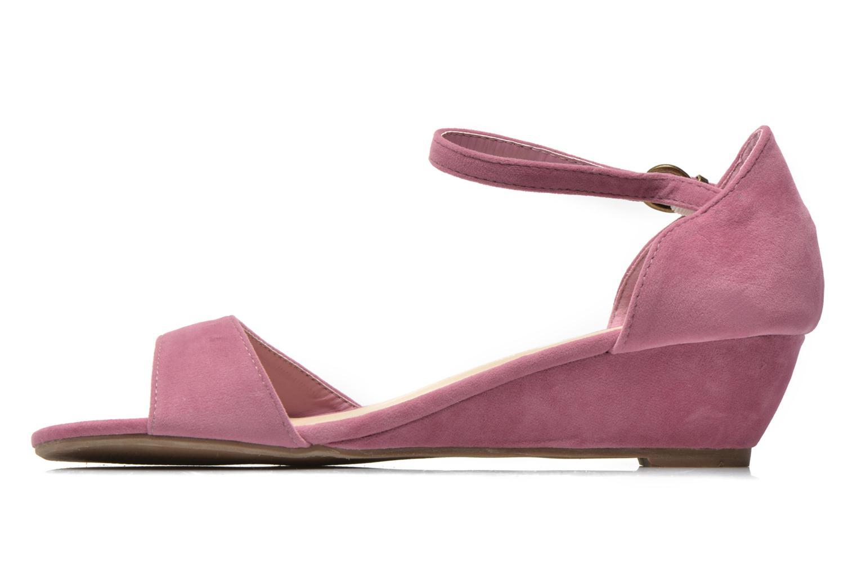 Sandales et nu-pieds I Love Shoes Kivito Rose vue face
