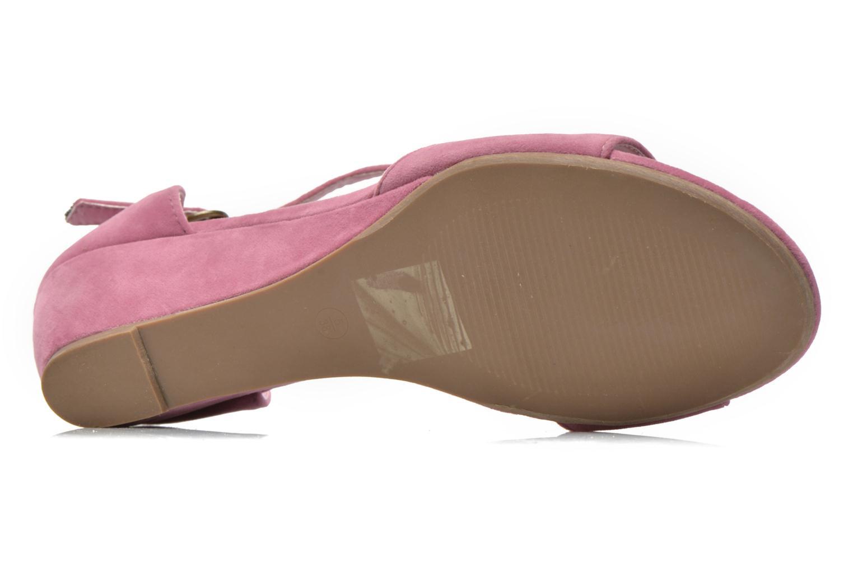 Sandales et nu-pieds I Love Shoes Kivito Rose vue haut
