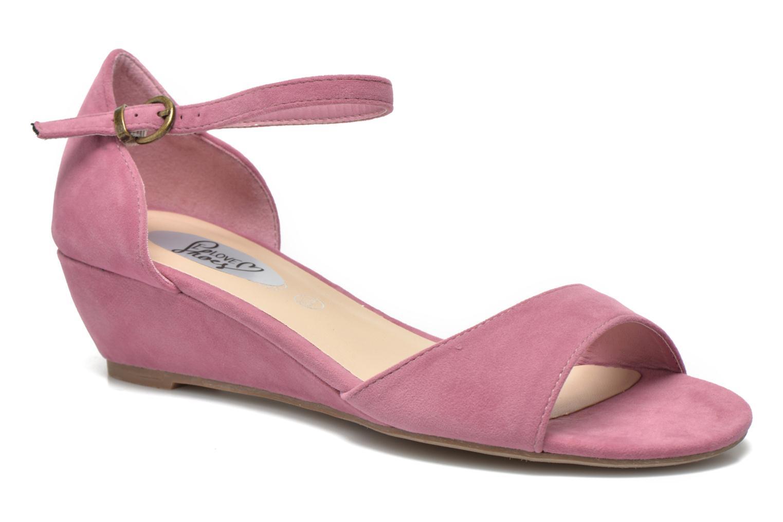 Sandales et nu-pieds I Love Shoes Kivito Rose vue détail/paire