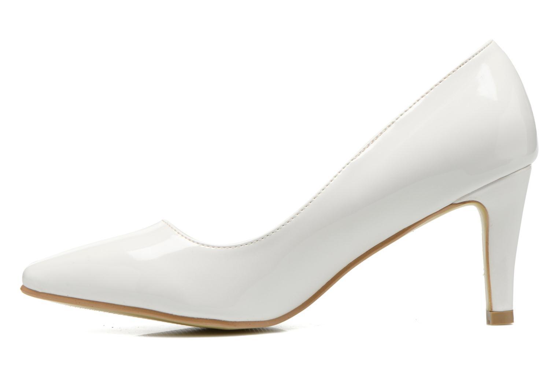 Escarpins I Love Shoes Kivari Blanc vue face