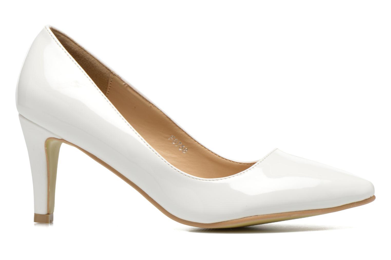 Escarpins I Love Shoes Kivari Blanc vue derrière