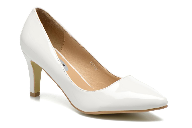 Escarpins I Love Shoes Kivari Blanc vue détail/paire