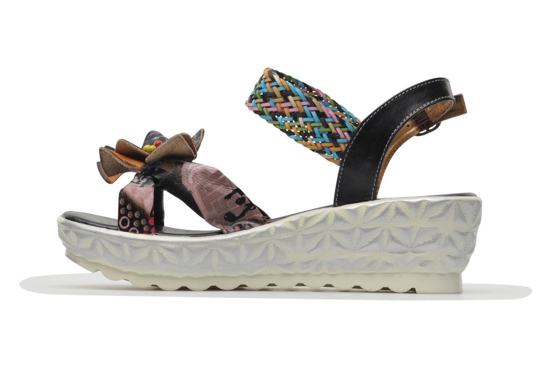 Sandales et nu-pieds Laura Vita Sidi Multicolore vue face