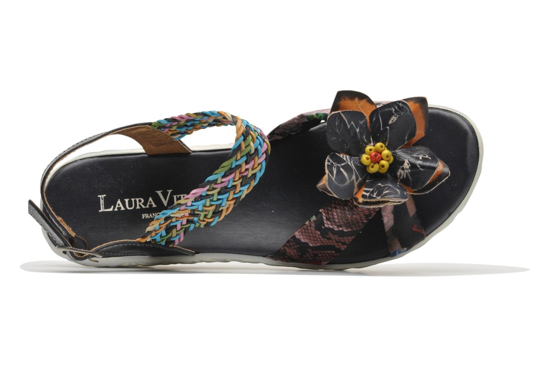 Sandales et nu-pieds Laura Vita Sidi Multicolore vue gauche