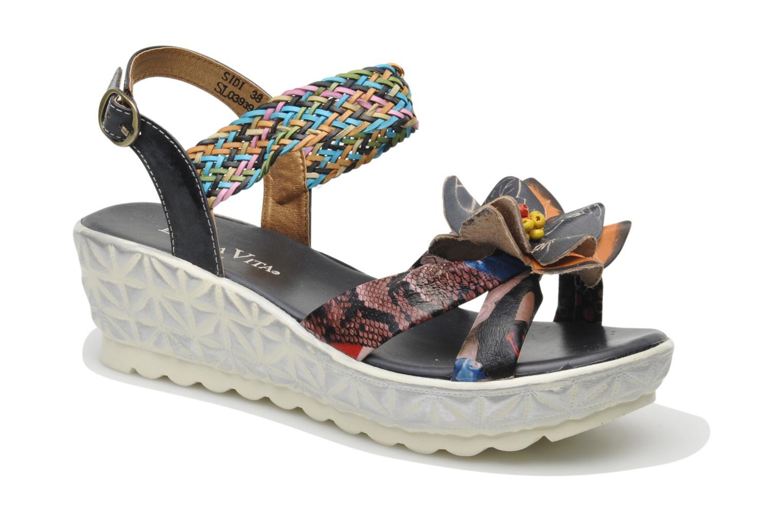 Sandales et nu-pieds Laura Vita Sidi Multicolore vue détail/paire