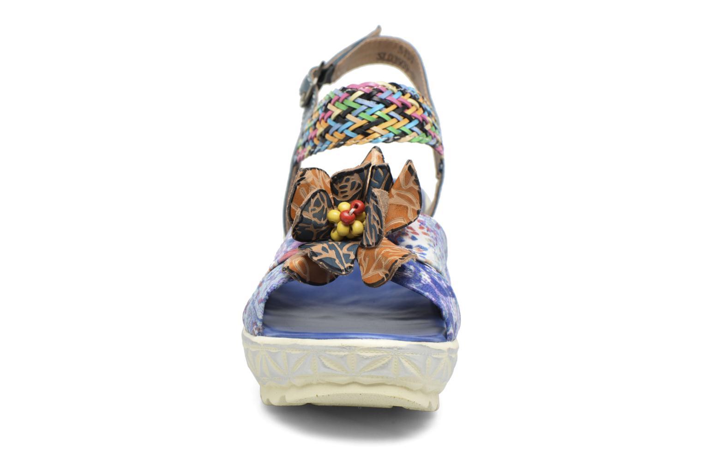 Sandales et nu-pieds Laura Vita Sidi Bleu vue portées chaussures