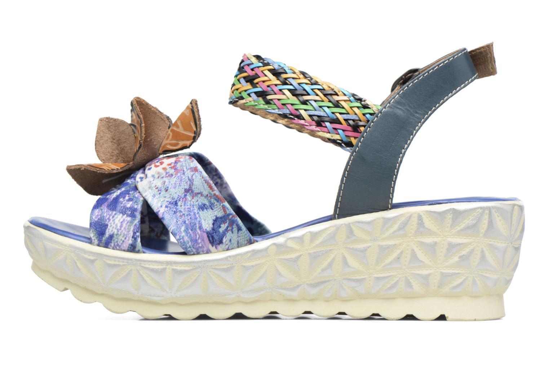 Sandales et nu-pieds Laura Vita Sidi Bleu vue face