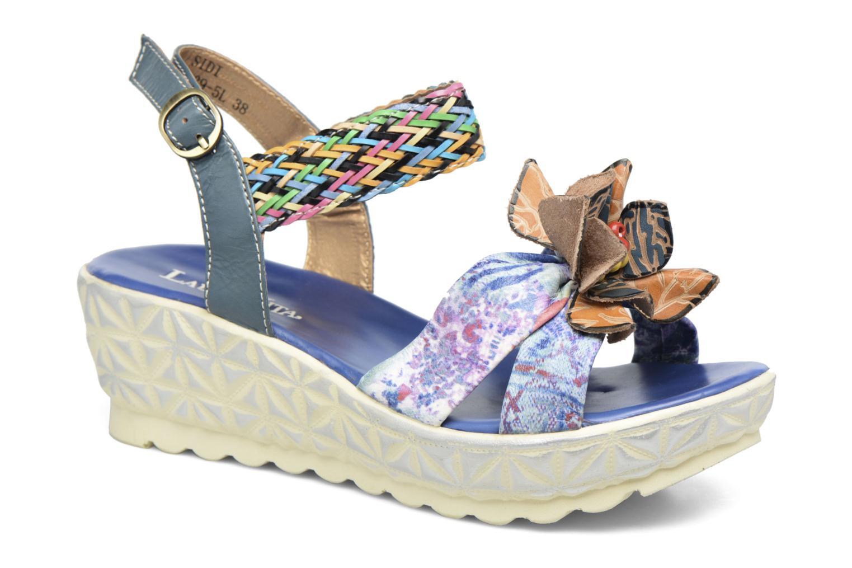 Sandales et nu-pieds Laura Vita Sidi Bleu vue détail/paire