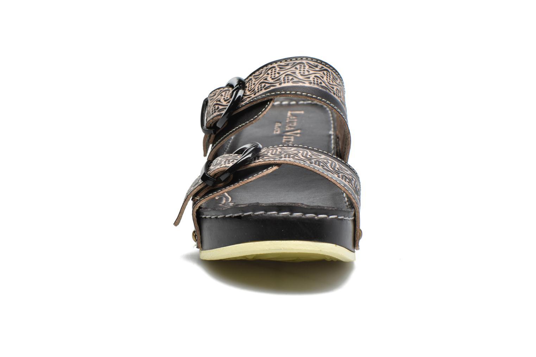 Mules et sabots Laura Vita Scep Noir vue portées chaussures