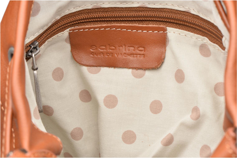 Handbags Sabrina Anaé Brown back view