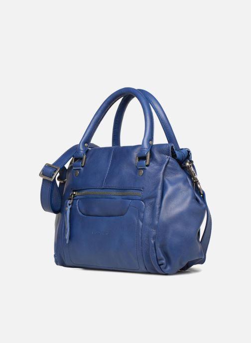 Handtaschen Sabrina Judith blau schuhe getragen