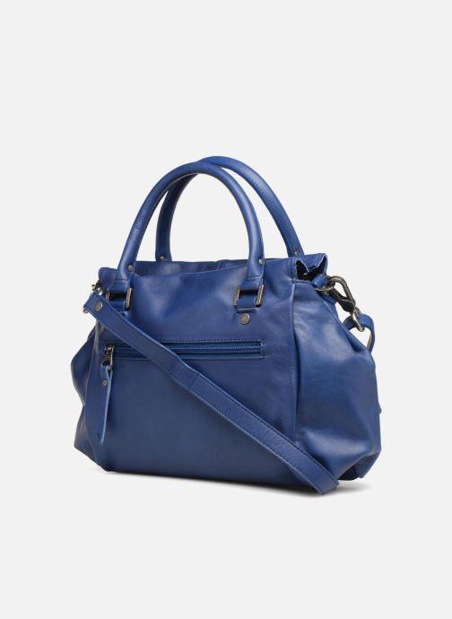 Handtaschen Sabrina Judith blau ansicht von rechts