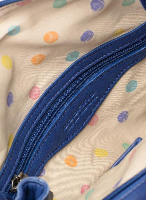 Handtaschen Sabrina Judith blau ansicht von hinten