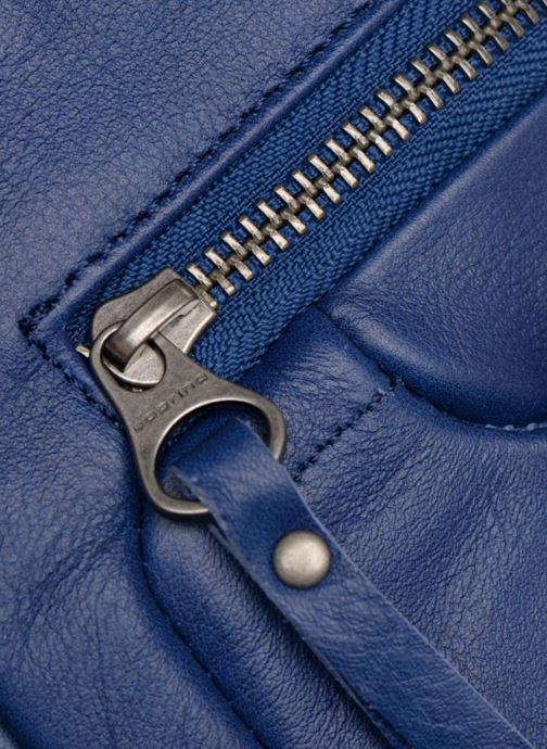 Handtaschen Sabrina Judith blau ansicht von links