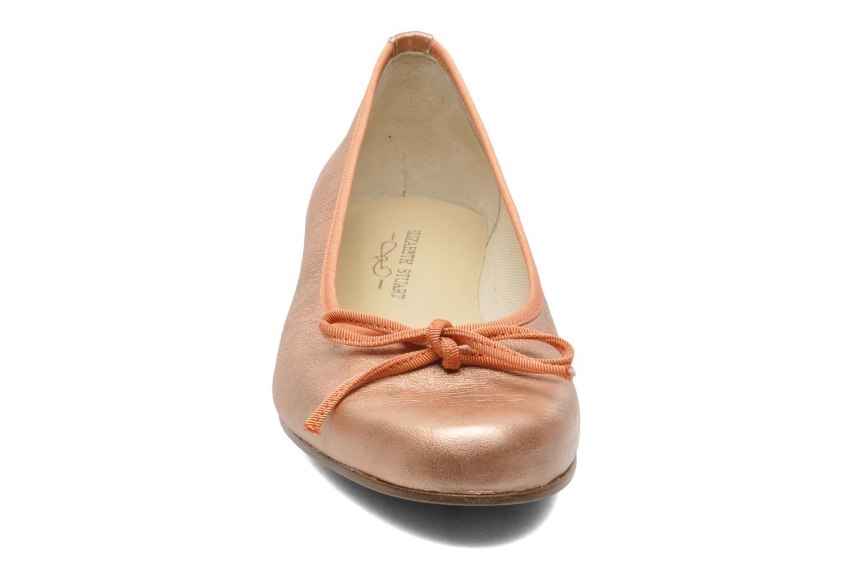 Ballerines Elizabeth Stuart Josy 371 Orange vue portées chaussures