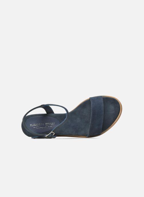 Sandalen ES by Elizabeth Stuart Soto 606 blau ansicht von links