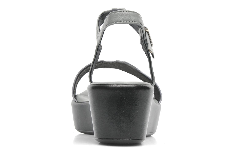Sandales et nu-pieds Elizabeth Stuart Villa 671 Gris vue droite