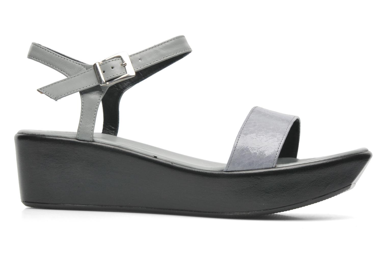 Sandales et nu-pieds Elizabeth Stuart Villa 671 Gris vue derrière