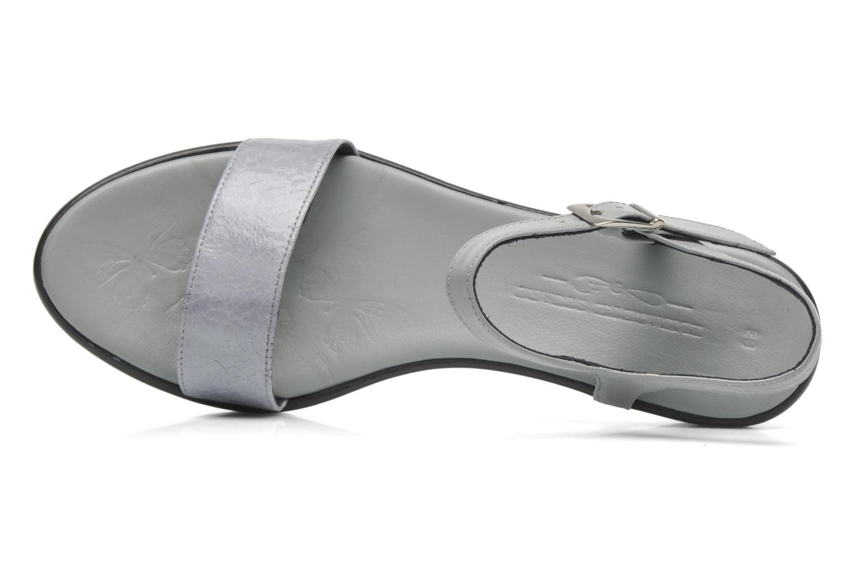 Sandales et nu-pieds Elizabeth Stuart Villa 671 Gris vue gauche