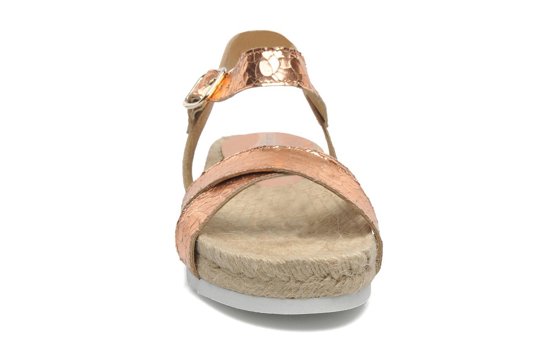 Sandales et nu-pieds Elizabeth Stuart Come 697 Rose vue portées chaussures