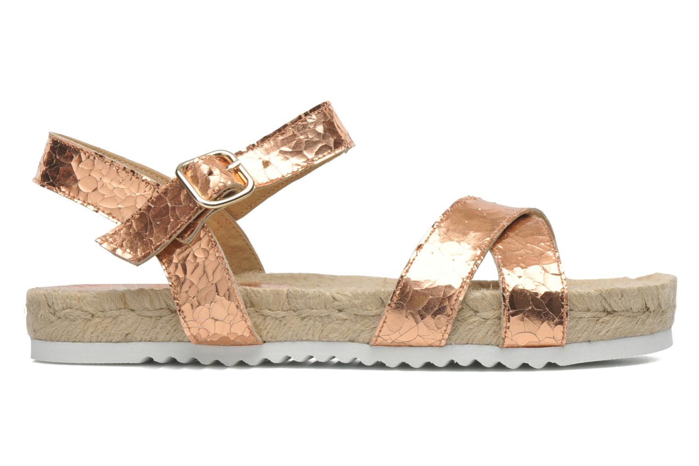 Sandales et nu-pieds Elizabeth Stuart Come 697 Rose vue derrière