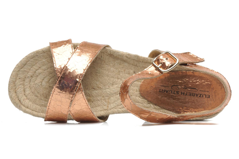 Sandales et nu-pieds Elizabeth Stuart Come 697 Rose vue gauche