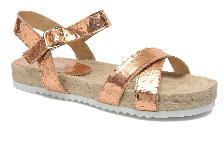 Sandales et nu-pieds Elizabeth Stuart Come 697 Rose vue détail/paire