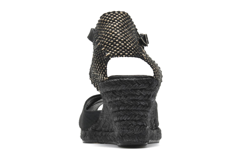 Sandales et nu-pieds Elizabeth Stuart Trento 604 Noir vue droite